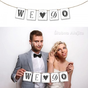 "Baner ""WE DO"" 77 cm"