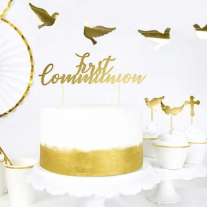 Topper na tort First Communion