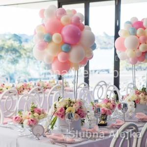 Dekoracje Urodzinowe Kolor Srebrny Lawendowy Sklep ślubna Alejka