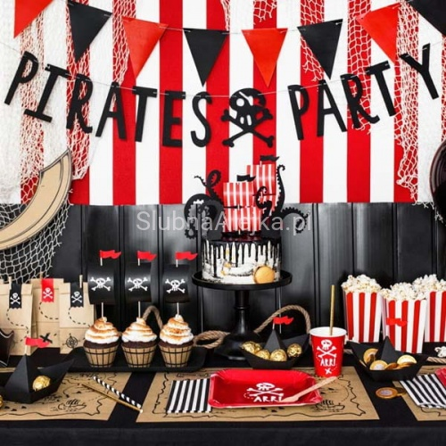 Baner Piraci Pirates Party 1m
