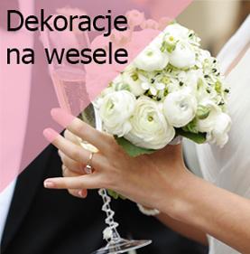 Dekoracje Weselne I Na ślub Sklep ślubna Alejka